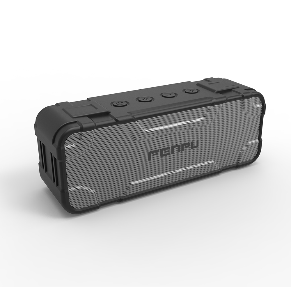 4400 mAh battery capacity,30 watt output bluetooth speaker with DSP