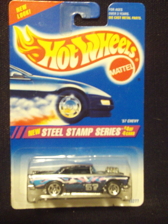 Hot Wheels Steel Stamp Series 4/4 '57 Chevy 5sp