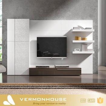 2018 Hangzhou Vermont Modern Design New Model TV Lcd Wooden Cabinet Designs  Furniture