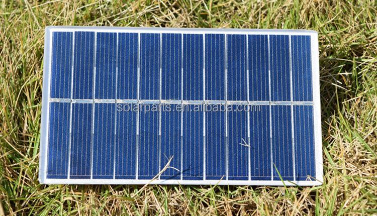 Photovoltaic Mini Pet Laminated Pv Solar Panel Module With