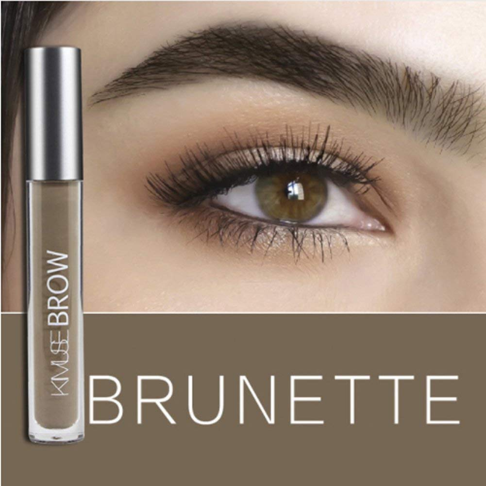 1pc Eyebrow Dye Cream Eyebrows Powder Natural Air Cushion Double Color Eyebrows Seal Waterproof Mascara Eye Makeup Cosmetics Eyebrow Enhancers