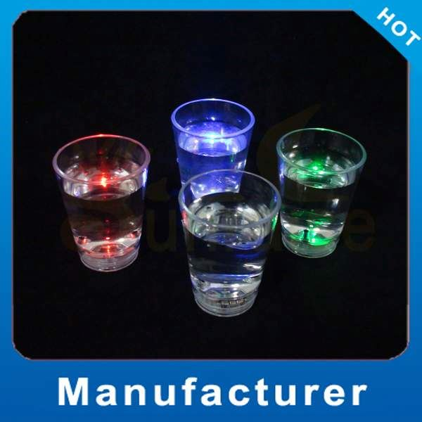 led bullet shot glass