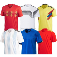 2018 personalized custom football jerseys soccer jerseys for World Cup