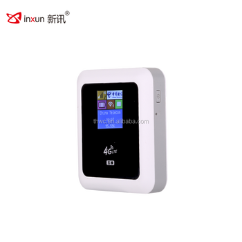 Factory direct sale 4G LTE SIM card slot mifis routers with power bank