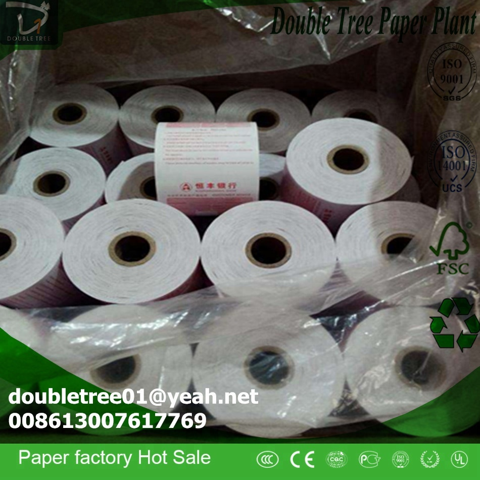 55g GSM and Blank or multi color offset pre-printed Printing 80mm width thermal paper roll
