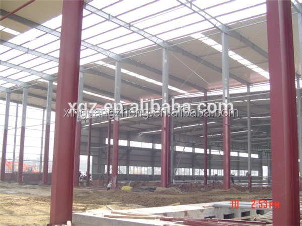 pre-made framing frame building cost of warehouse construction