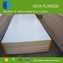High gloss one side white melamine plywood laminate plywood manufacturer