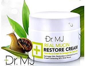 Dr. Mj Real Mucin Restore Snail Secretion Cream for Damage Skin Restoration. [Free for You Beauty Gift]