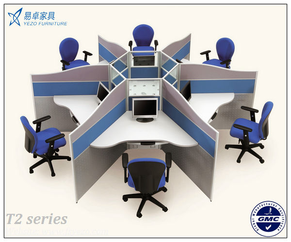 21 Mm Thick Office Cubicle WorkstationsSmall Office Cubicles For