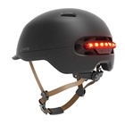 Smart4u Official Store Hot sale bike smart Helmets cycling helmets With LED Light & Brake Light & Auto off - SH50L