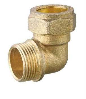 T1167 Brass Compression Solder Fittings For Copper Pipes Circular Threaded  Daikin Air Conditioner Pipe Fittings Dimensions - Buy Threaded Copper Pipe