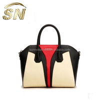 2015 made in china wholesale famous branded designer lady genuine leather handbags fashion