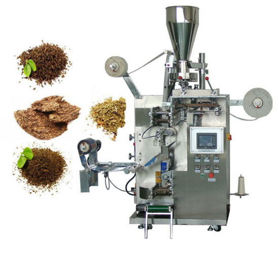 With Thread And Label hanging line standard filter bag tea packing machine