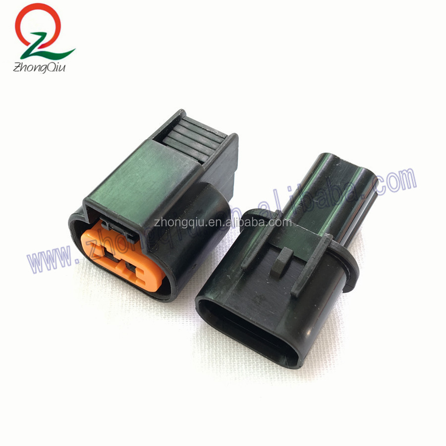 2pin kum pa66 male female automotive electrical connector
