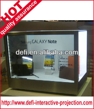 2013 new Advertising Display,Ad player,Transparent Lcd Display