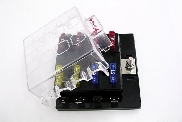 cheap fuse box circuit fuse box circuit deals on line at universal car truck vehicle 8 way circuit 32v 150a automotive middle sized blade fuse box
