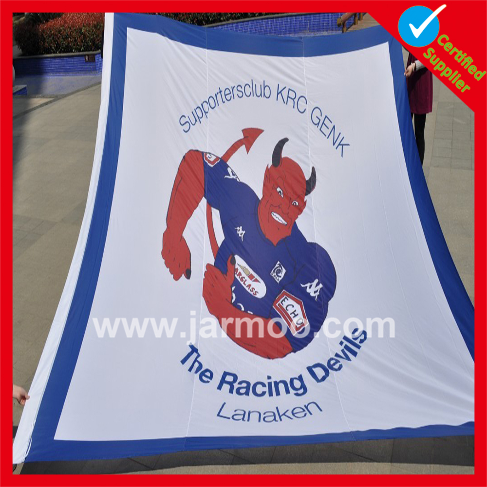 Made-In-China custom colorful football big flag
