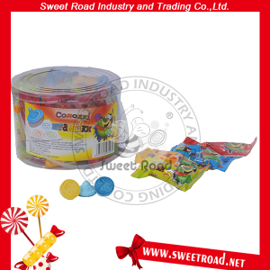 Stamp Shape Fruity Flavour Hard Pressed Candy