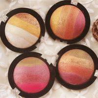 OEM export Europe and America peach blossom wine, red earth color polarization, mineral baking powder, eye shadow, 20g