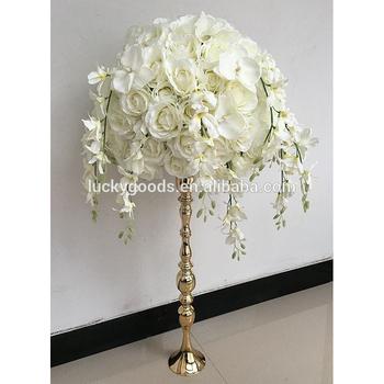 Wedding Event Table Decoration Artificial White Rose Flower Arrangement Wholesale Buy Flower Arrangement Wedding Flower Arrangements Artificial Rose