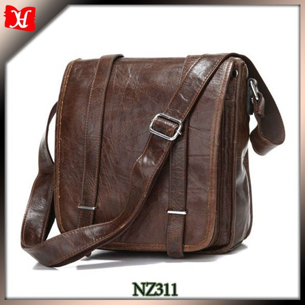 Leather Briefcase Shoulder Business Laptop Messenger Bags Tote ...