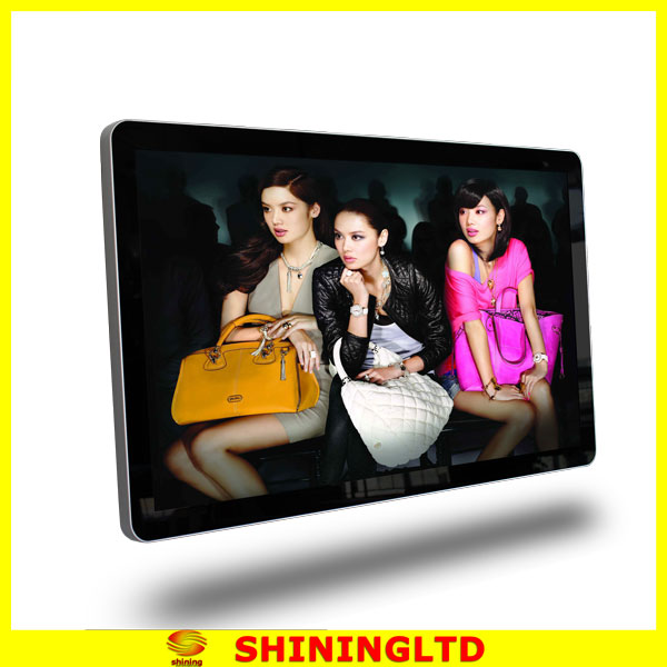 acrylic HD TFT indoor LCD advertising display