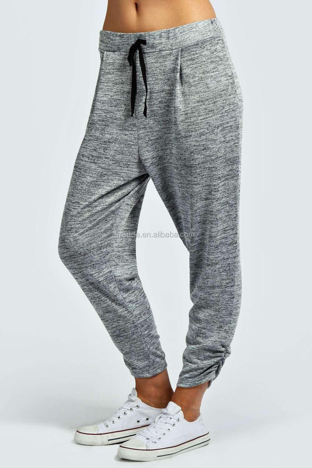 matching in colour most desirable fashion fashionable and attractive package Yoga Pants Knitted Jogger Grey Pleated Comfortable Baggy Fit Fitness Jogger  Pants Women - Buy Fashion Jogger Pants,Grey Pleated Baggy Fit Fitness ...