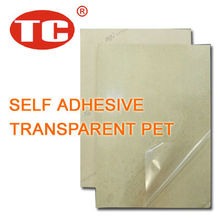 Self Adhesive Transparent PET Film 25 Microns
