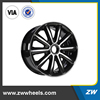 ZW-B1117 16 inch aluminum alloy wheel for SUV cars, 5x120, 5x100 wheels rim