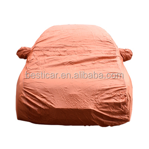 Automobile Outdoor Protection Cover Waterproof Sun UV Protection Polyester Car Parking Shelters