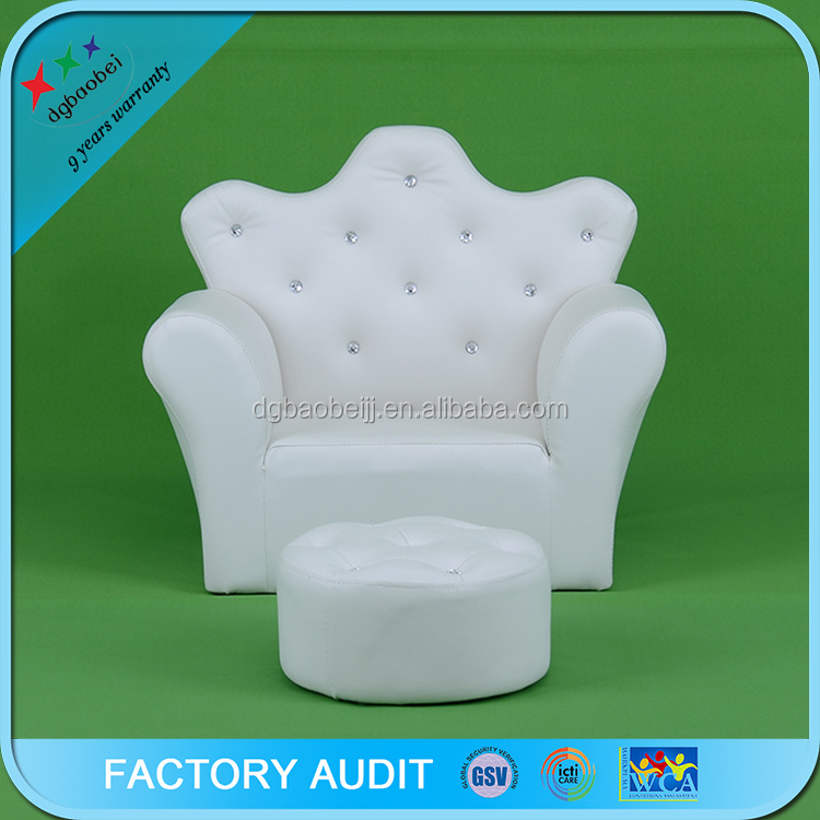 Popular Sofa Design Children Sofa With Crystal Rhinestone