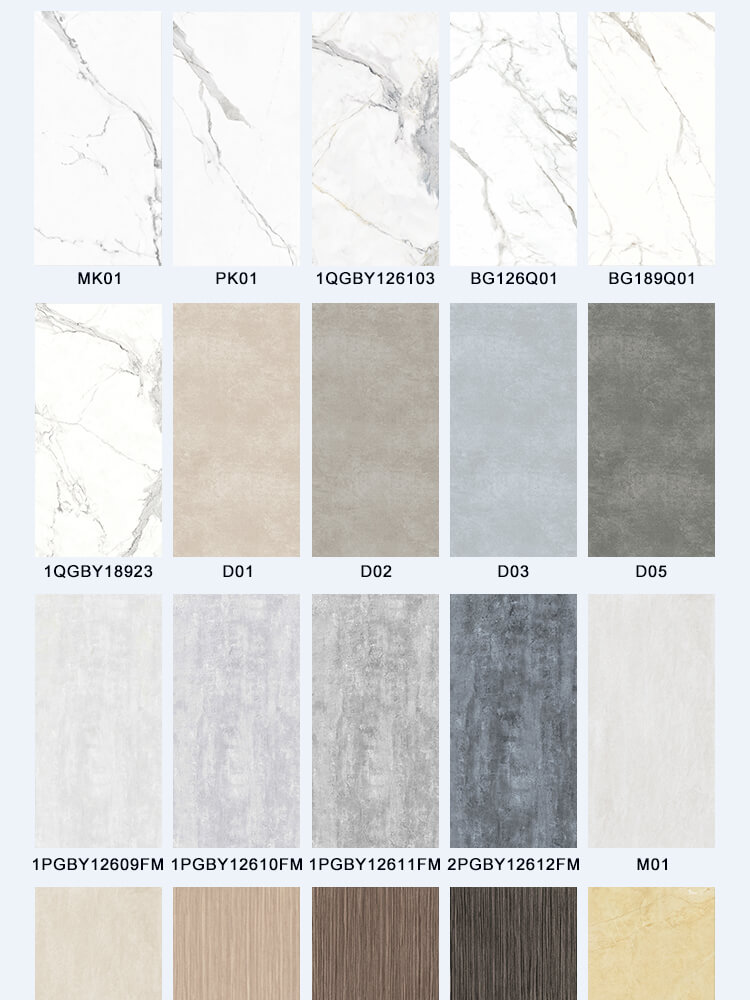 Large size porcelain thin wall tile rectangular white bathroom slim ceramic floor tiles with good offer