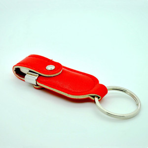 wholesale Top quality Newest Design leather USB flash drive perfect for promotional gifts