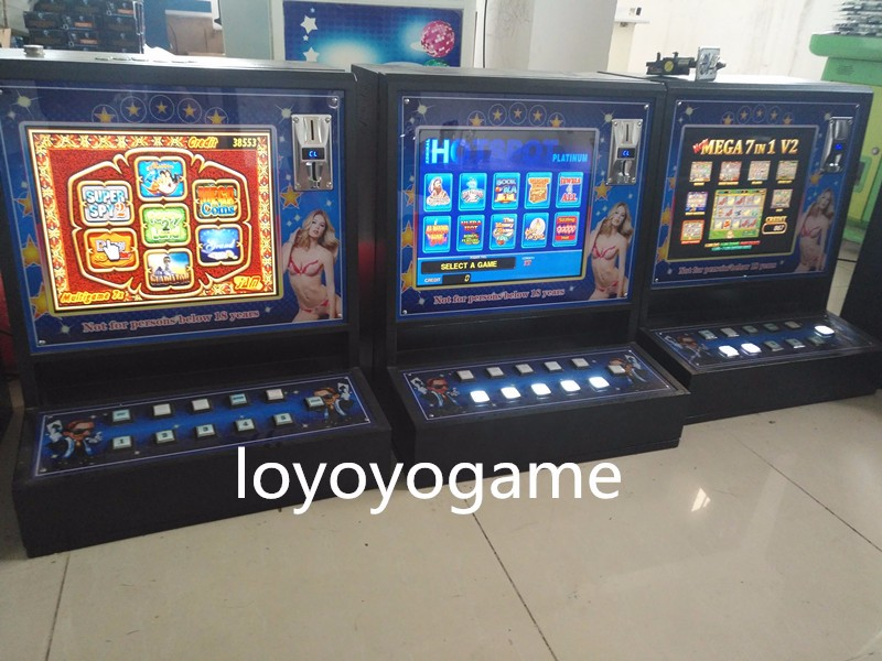 slot gaming game machine jammer casino development multi games OEM factory