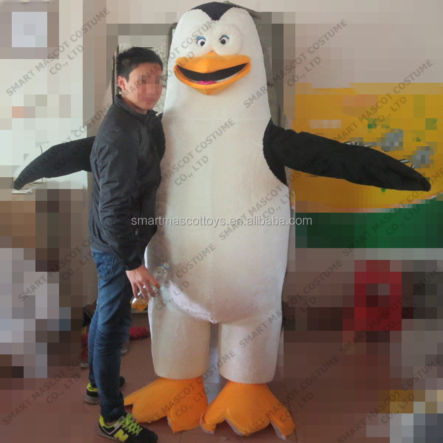 Famous penguin mascot costume for adult penguin mascot costume