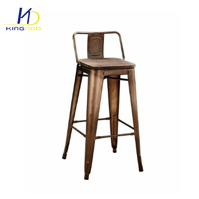 Bar Furniture Bar Chair Bar Furniture Commercial Furniture Solid Wood Fashion Long Leg Bar Chair With Backrest Hot New Wholesale High End 2018 Great Varieties