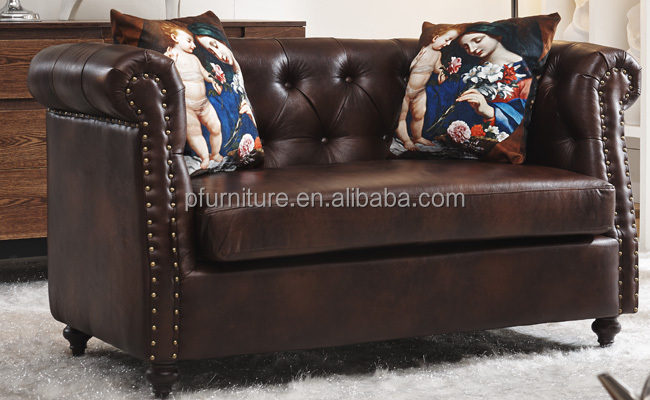 American classic style fabric curved sofa