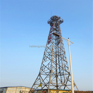 100ft 30m 35m 40m fire station training angle lattice steel watchtower observation tower