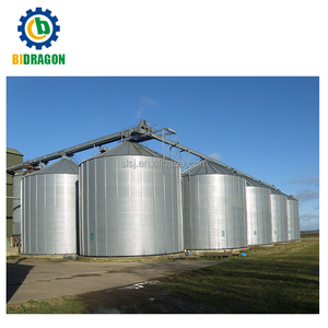 Grain storage silo size 500T