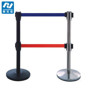 Bank/Airport Stainless Steel Queue Line Stand Road Barrier