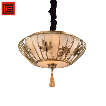 Chinese chandelier fabric chandelier pendant light indoor office tea chinese chandelier fabric chandelier pendant light indoor office tea room with bronze and fabric lantern round mozeypictures Images