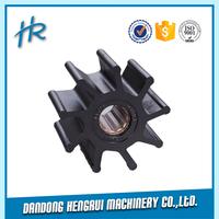 OEM high quality stainless steel pump impeller casting