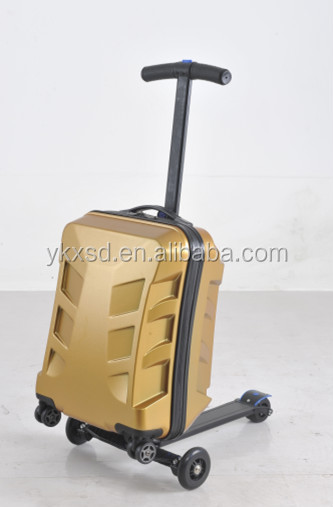 Micro 3 In 1 Suitcase Scooter / Wheeled Trolley Suitcase