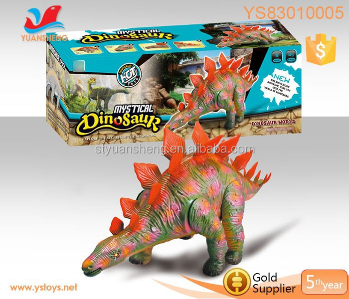 Wild dinosaur robotic battery-operated toys plastic dinosaur toys