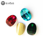 SI.VOUS Crystal fancy stone clear glass stone rhinestone for jewelry making and garments