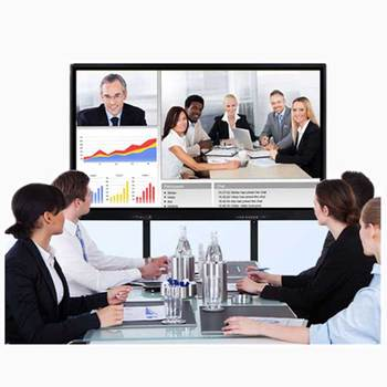Professional 86Inch Meeting Room Interactive TV Touch Screen Whiteboard For The Big Conference