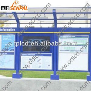 full HD outdoor transparent lcd display, outdoor advertising billboard