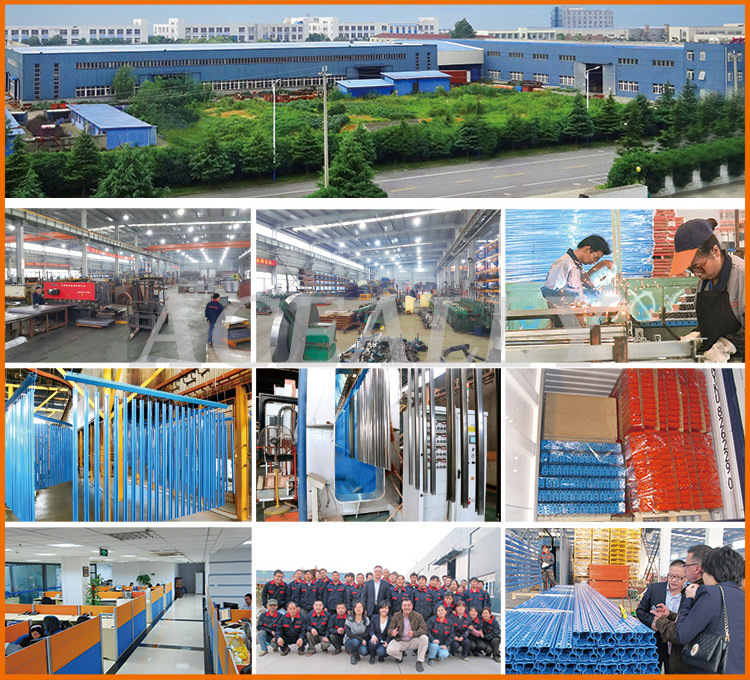 steel angle iron shelving and heavy duty steel plate rack in China