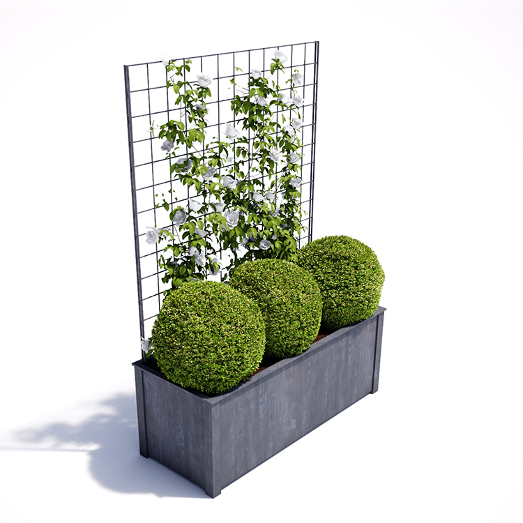 China Metal Planter Boxes China Metal Planter Boxes Manufacturers