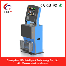 Cash Payment Kiosk with EMV certified card reader and open door alarm system